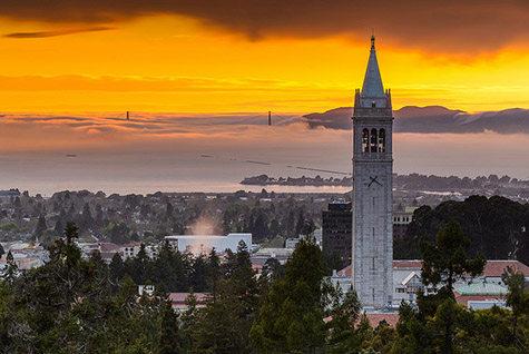 City of Berkeley with Bell Tower